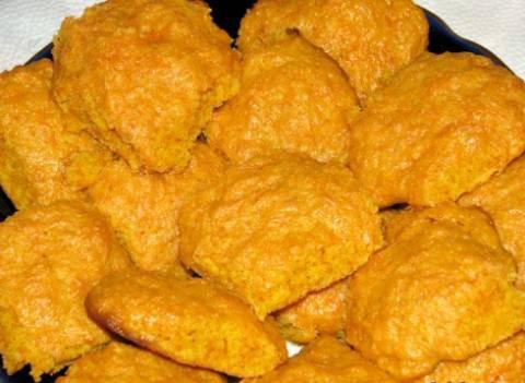 Морковное диетическое печенье рецепт пошагово