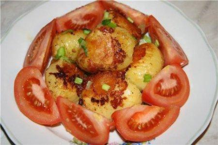 Картофель печёный по-шведски в мультиварке