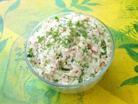 Салат хрустяшка рецепт