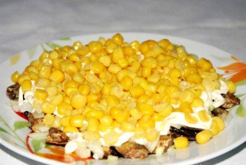 Рецепт салата шпроты под шубой с 100