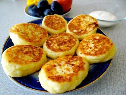 сырники из творога 200 гр рецепт с фото пошагово
