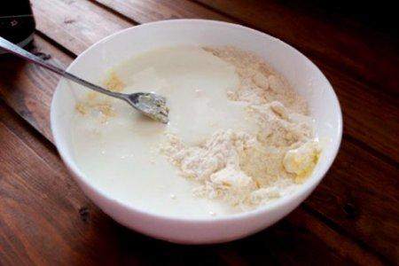 Печенье на йогурте.