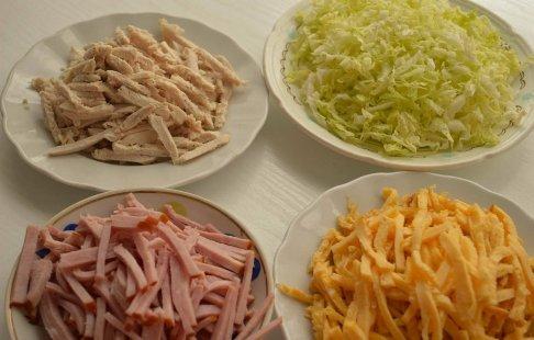 Салат из пекинской капусты рецепты с фото на RussianFood