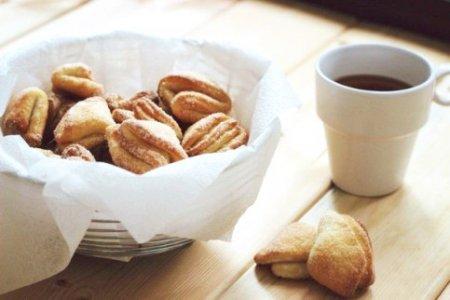 Творожное печенье к чаю