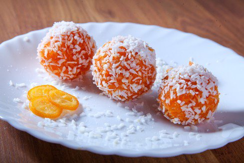 Морковные конфетки