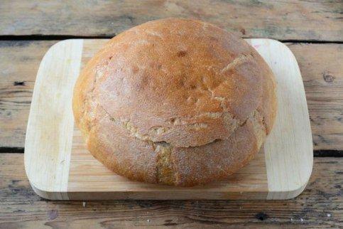 Бутерброд в хлебе ♨