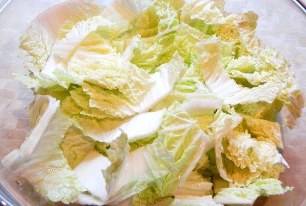 Салат из пекинской капусты и брынзы ♨