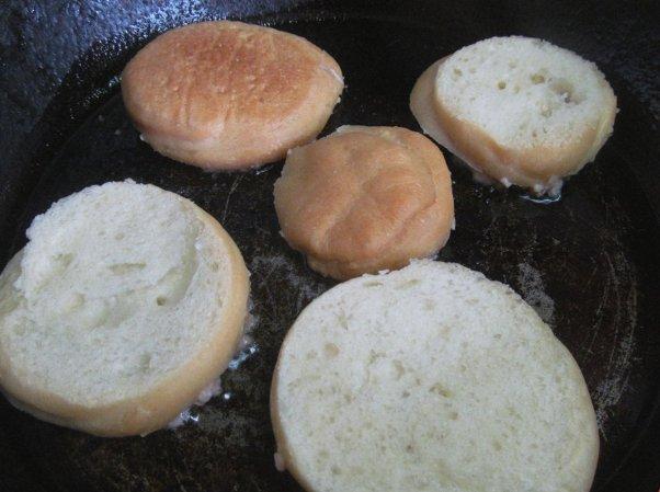 Бутерброды с фаршем ♨